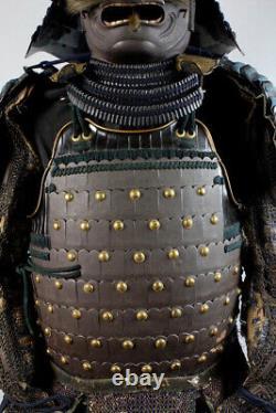 17th 18th Century, Edo, A Set of Antique Japanese Samurai Armor