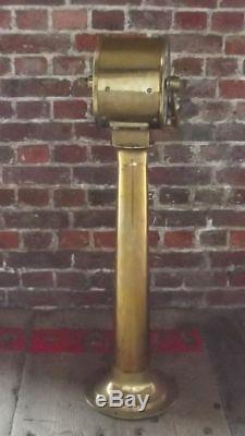 20th century Nippon Zosenkikai Co Japanese Bronze Engine Room Telegraph