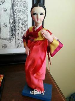 3 Japanese Geisha Dolls, GO Theater