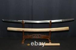 (AK-54) TACHI KUNIMITU sign Blade Length 73.2(28.8inch) SAYA Writing AWATA GUCHI