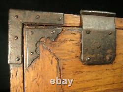 ANTIQUE JAPANESE EDO ERA (c1780) 5 DRAWER GYOSHO BAKO PEDDLERS TANSU CHEST