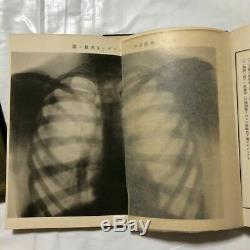 Antique Japanese Anatomy Medical book 1906' Meiji Historic Collectible F/S