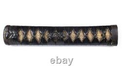 Antique Japanese Katana Koshirae with Set of Matching Iron Fittings