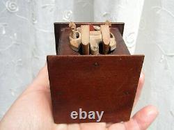Antique Japanese Meiji period or Victoria period Kobe Wooden Toy Automata