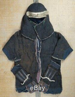Antique Ninja armor Samurai wear 1700s Kabuto Japan Edo era craft