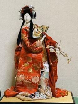 Antique Vintage Japanese Geisha Doll Kimono And Clothes Figure Figurine