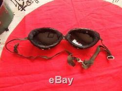 Antique World War II ww2 Japanese Pilot Summer Cap, Goggles, Photos Kamikaze