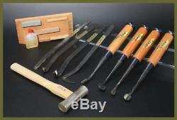 BKG39 Kiyomitsu Unused Japanese 10 bonsai tool set Jin shari # bonseki bonkei