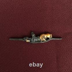 D1286 Japanese Edo Samurai Shakudo Horse LONG MENUKI katana koshirae tachi