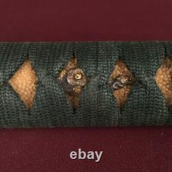 D1332 Japanese Edo Samurai WAKIZASHI TSUKA katana koshirae fuchi kashira menuki