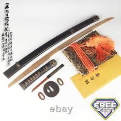 D1410 Japanese Edo Samurai NGTHK cert. Complete set HANDACHI KOSHIRAE katana