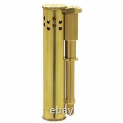 Douglass Classic Design Oil Lighter Field S Brass Gold Original Case Japan New