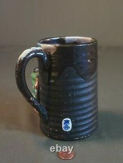 Fine Early 20th Century Japanese Sumida Gawa Tanker Mug
