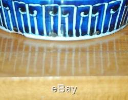 JAPANESE IMARI LAMP Antique Porcelain Vase GINGER JAR Meiji Arita 19th C. 3S
