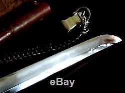 Japan 400+yrs koto Bizen family blade Osafune Kiyomitsu in ww2 army gunto mount