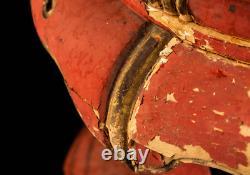 Japanese Antique Huge Orin Buddhist Temple Bell Bowl, Diameter 16 Height 31