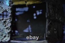 Japanese Antique Hut Shape Bronze Hanging Lantern Ornament