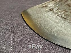 Japanese AxeRARE ANTIQUEHand Forged Blacksmith LaminatedWood Timber Tool