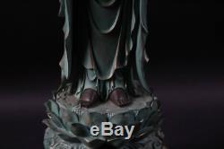 Japanese, Japan, Buddhism Jizo Bodhisattva, Cold cast statue Buddha 55cm
