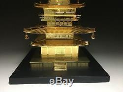 Japanese Japan, Jcultural heritage Buddhist temple 3-storied pagoda stupa 41cm