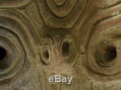 Japanese Jomon Period Jomon Doki Urn Pot / W 32.5 × H 31cm / BC15000 BC2300