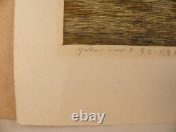 Japanese Modern Woodblock Print By Inagaki Akemi