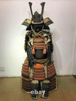 Japanese Samurai Musha Kabuto Helmet Maedate Menpo Yoroi Armor Kacchu Gusoku #1