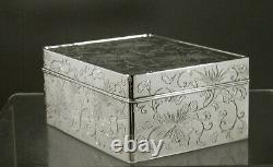 Japanese Sterling Box SIGNED 24 OUNCES