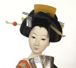 Japanese antique doll kimono Geisha Girl beautiful Japan Kyoto Figure Beautiful