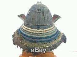 KABUTO 62-Ken Suji Helmet Edo Period Samurai armor Japan life-size elaborate