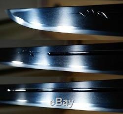 Koto Jo-saku YOSHISUKE Signed TANTO Horimono Sword in Shirasaya w NBTHK C101