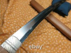 Koto era Wakizashi antique sword Samurai Japanese Tachi tsuba Katana shirasaya