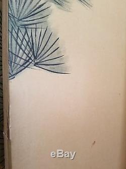 Large Vintage Japanese 6 Panel Folding Screen Byobu Kyokuzan Pine With Cranes
