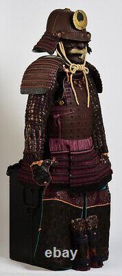 Late 17th Early 18th C, Momoyama, A Set of Antique Japanese Samurai Armor