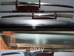 Long Gendai Japanese Katana Seishinshi Sadatoshi 1973 Gendaito Nihonto 71.6cm