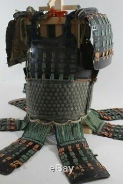 MUNETORI KIKKO 2 Plates DOU with6 DAN ITA SODE of YOROI (armor) EDO 4.97kg