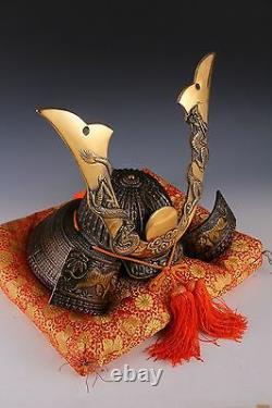 Massive Japanese Samurai Helmet -Dragon and Tiger Kabuto- Tsushima