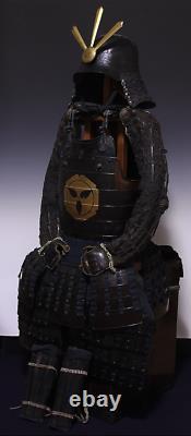 Momoyama-Edo (1573-1868) Period Samurai Yoroi Armor Kabuto Menpo Set