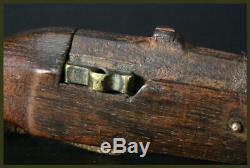 NT16 Edo era Japan Antique Miniature teppo Netsuke hinawaju