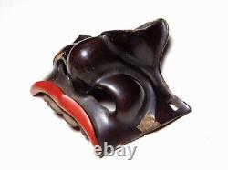 Nose of Menpo Japanese Original Edo Yoroi Kabuto Armor Antique