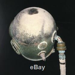 RARE Japanese Antique Diving Helmet No Breast Plate TOA Copper Vintage Deep Sea