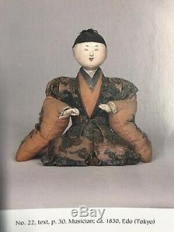 Rare 1830 Edo Japanese Palace Dollkarikurapolished Gofunauthexc Silk/brocade
