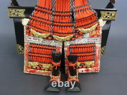 SAMURAI Japanese YOROI NINGYO KABUTO Mini GOGATSU Armor Suit