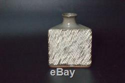 ST28 Japanese Tatsuzo Shimaoka Mashiko vase Living National Treasure withbox