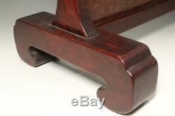 SWR182 Japanese wooden Crane and pine three type Sword Rack stand #katana kake