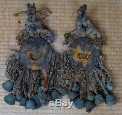 Samurai horse bells Japan Edo era 1800s antique Japanese manufacture