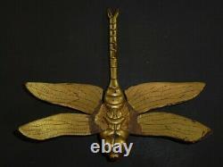 TAPPED GOLD DRAGONFLY MAETATE of KABUTO (helmet) of YOROI (armor) EDO