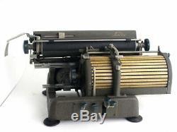 TOSHIBA Japanese old typewriter wabun kanji vintage type japan antique