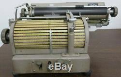 TOSHIBA Japanese old typewriter wabun kanji vintage type japan antique 1400K