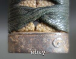 Tsuka handle Samurai shishi menuki amaryu dragon fuchi kashira Sword fitting